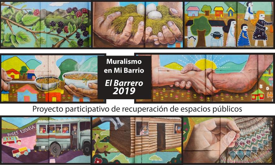 Mural Participativo El Barrero 2019