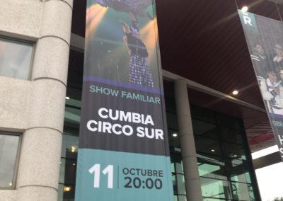 'Cumbia Sur Circo' debutó en sala teatral con éxito de público en Rancagua