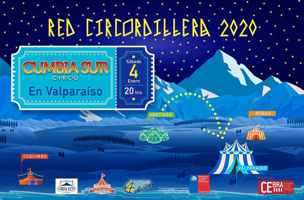 Se inaugura en Valparaíso proyecto interregional de circo contemporáneo 'Red Circordillera'.