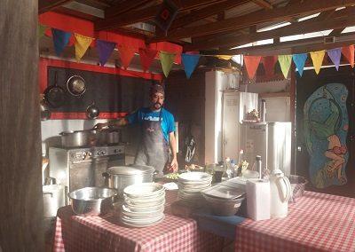 Chef Carpa Azul