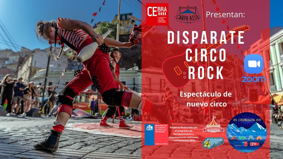 'DISPARATE CIRCO ROCK': ¡UN CONCIERTO DE CIRCO!